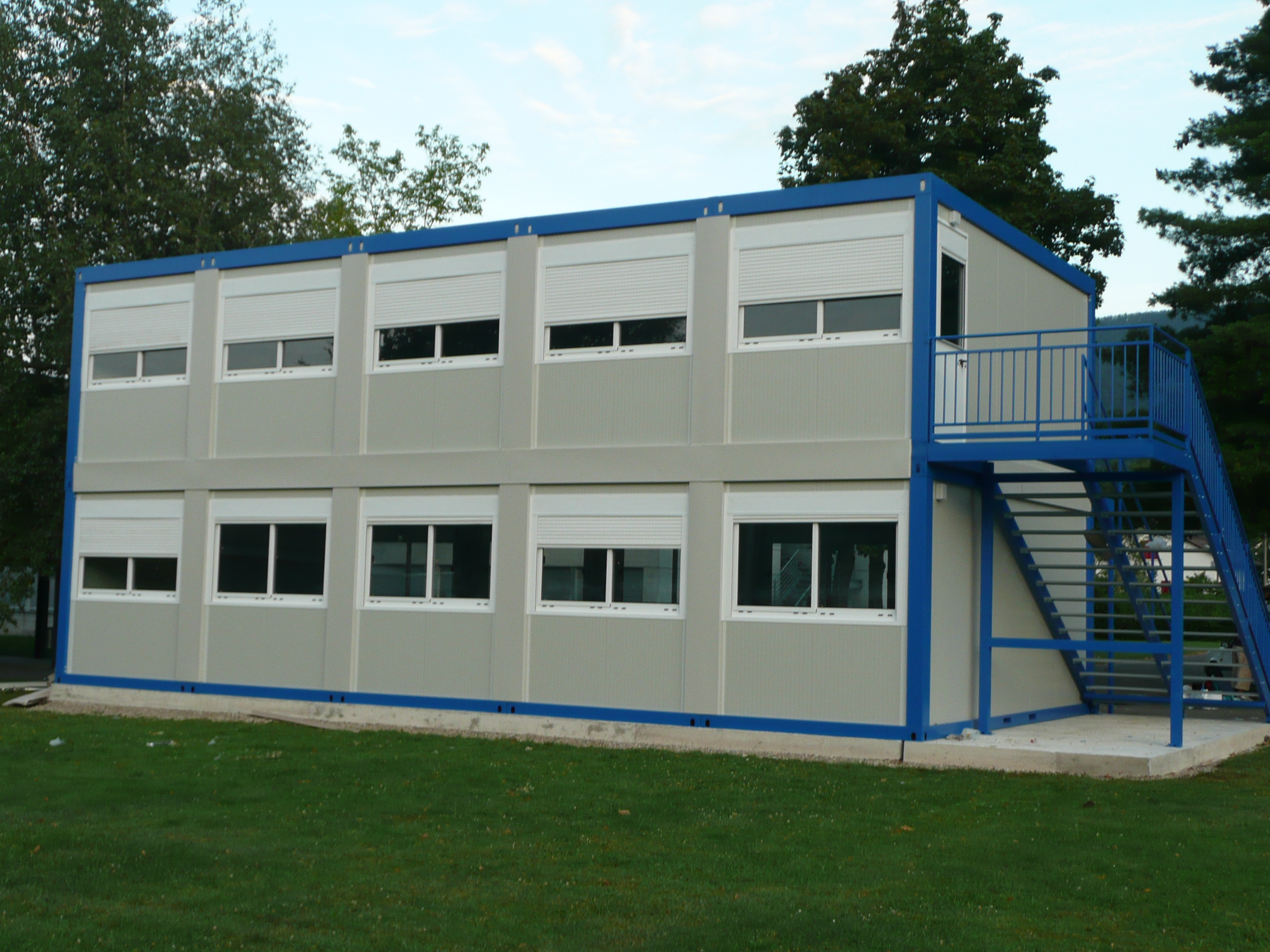 prefabricated accomodation