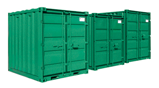 Container ISO, for heavy materials , with thickness from 3 to 4mm