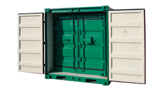 Container ISO, for heavy materials