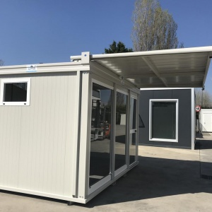 prefabricated solutions modules equipped with kitchen