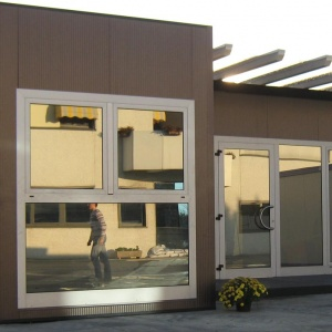 prefabricated changing rooms