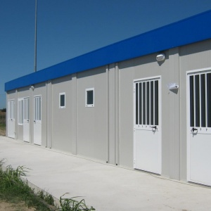 prefabricated modules for shops
